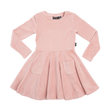 Rock Your Kid Corduroy L/S Waisted Dress
