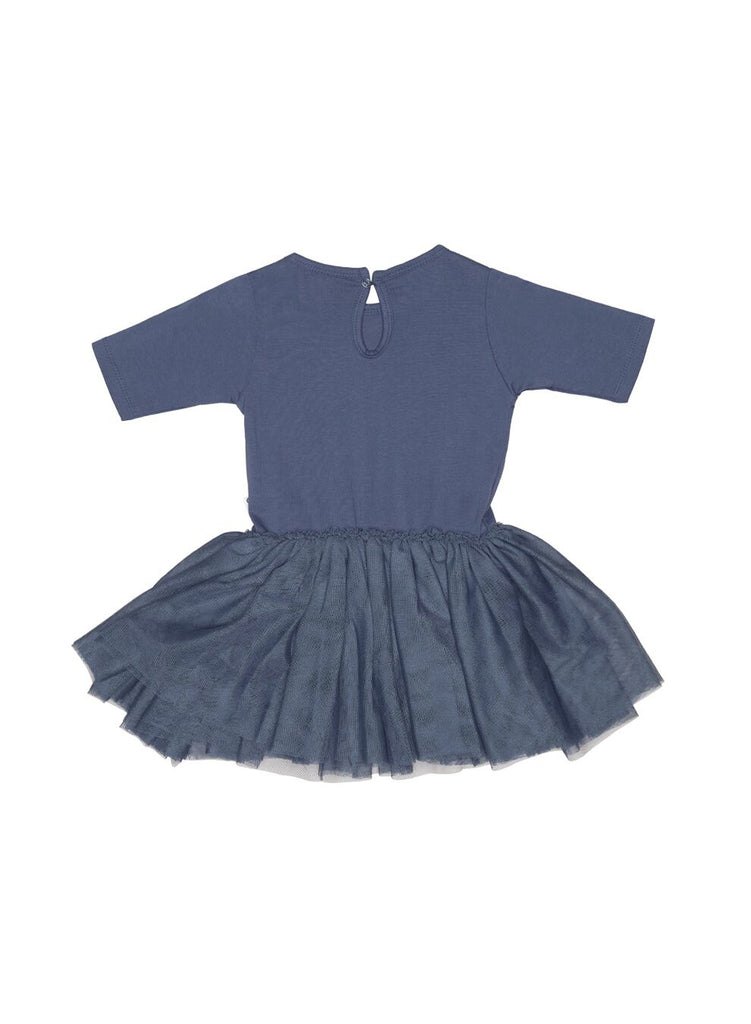 Huxbaby Fox Ballet Dress (Indigo)