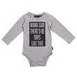 Rock Your Baby Mama Said L/S Bodysuit