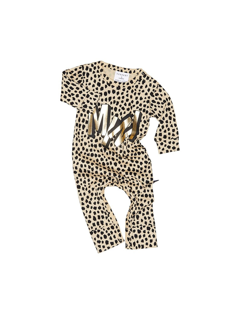 Huxbaby Mini Romper (Oyster)