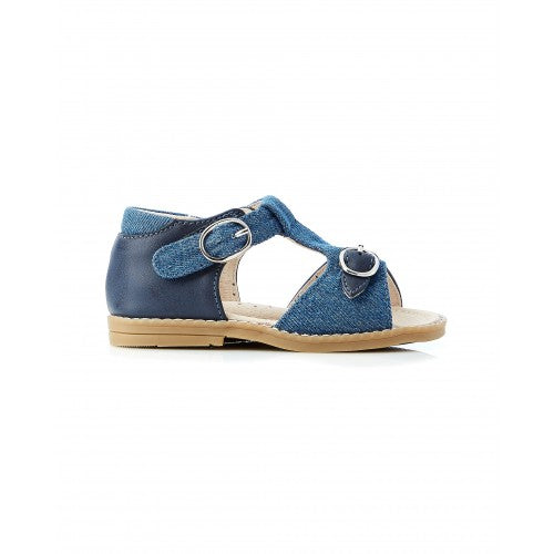 Walnut Rocket Canvas Sandal (Denim Navy)