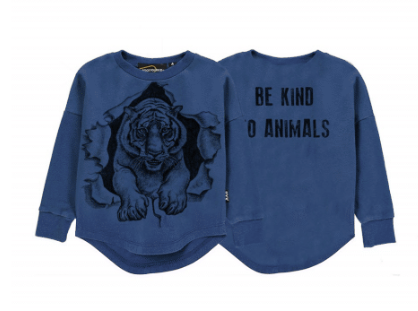 RYK Be Kind To Animals L/S T-Shirt (Indigo Blue)