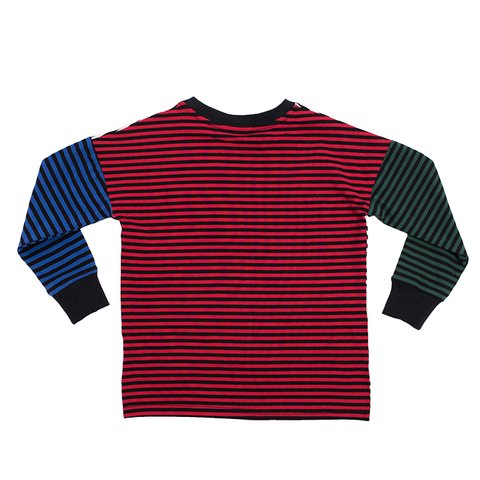 Rock Your Kid Multi Coloured Stripe LS T-Shirt
