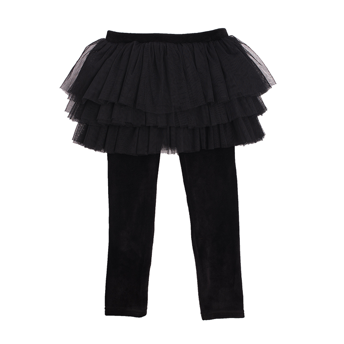 Rock Your Kid Velvet Circus Tights