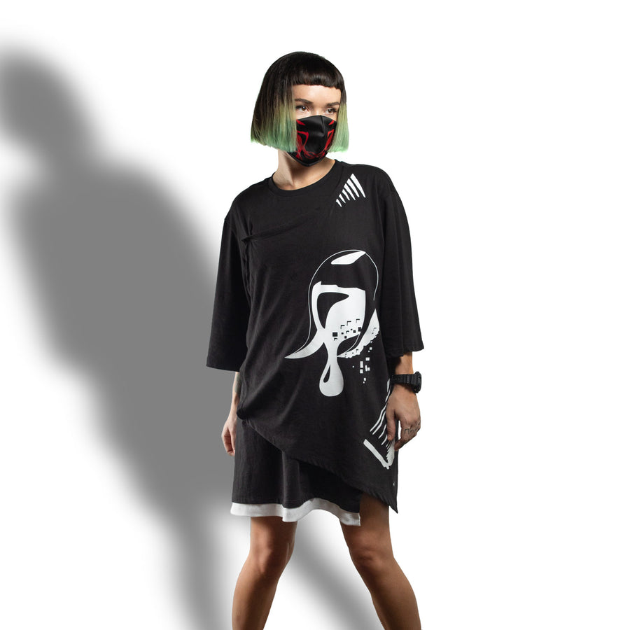 Speaker Honey CYBERSPACE Oversized T