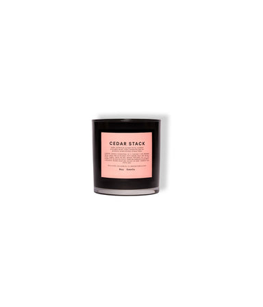 Candle, Cedar Stack - LEMON LAINE - Accessories (Wellness) - Boy Smells