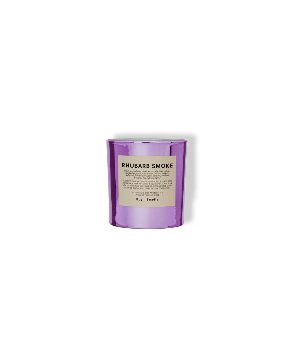 Candle, Rhubarb Smoke Limited Edition - LEMON LAINE - Accessories (Wellness) - Boy Smells