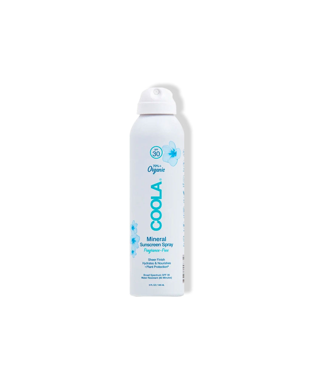 Mineral Body Sunscreen Spray SPF 30, Fragrance Free - LEMON LAINE - Body Moisturizers - Coola