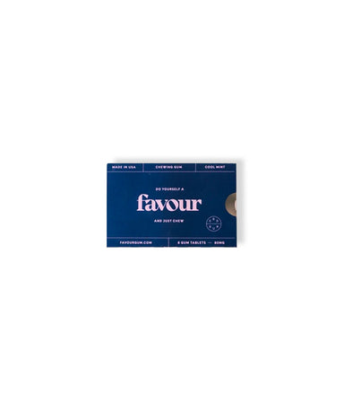 Favour Chewing Gum - LEMON LAINE - Stress Relief - Favour Gum