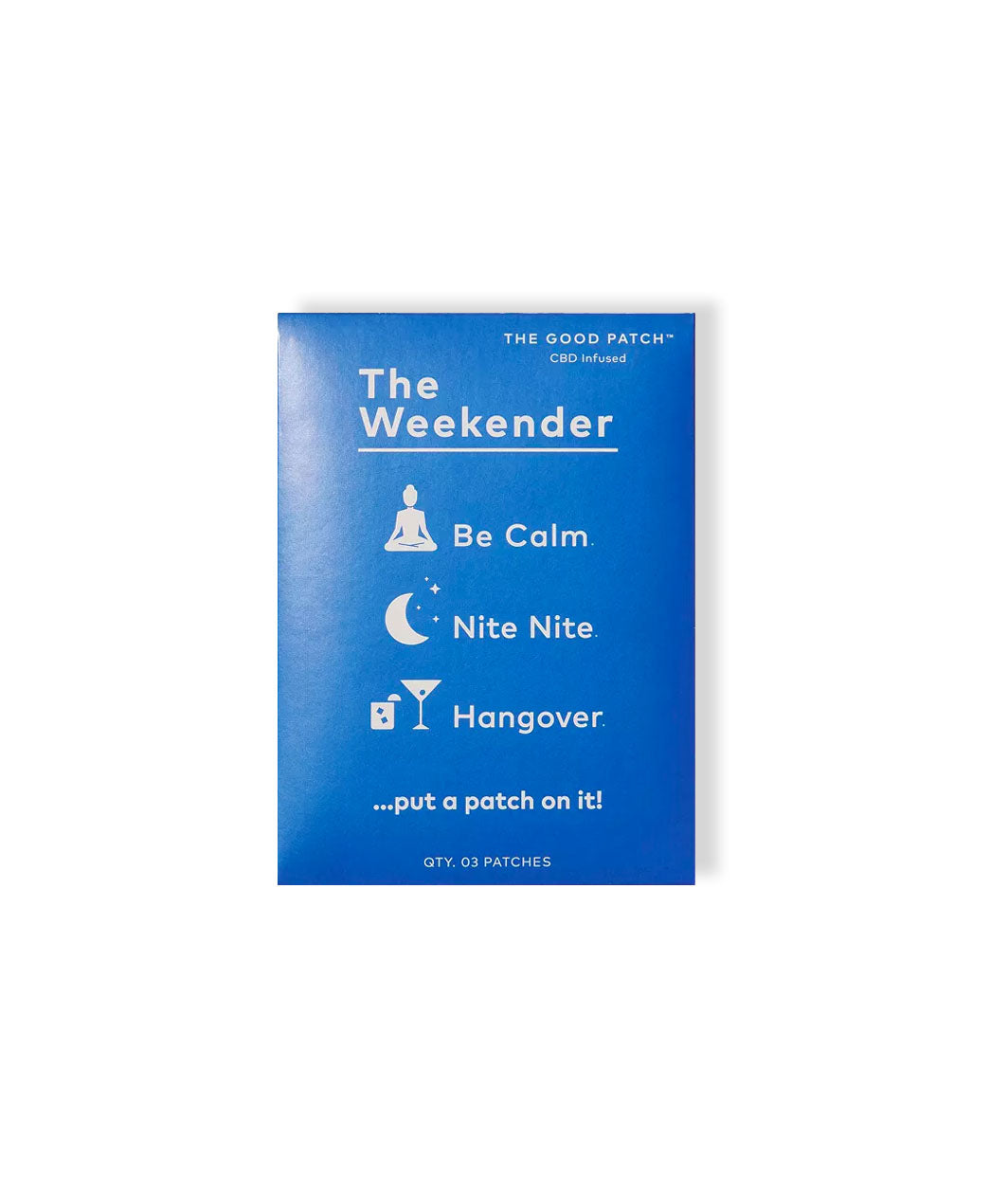 The Weekender Patch Gift Set - LEMON LAINE - Stress Relief - La Mend