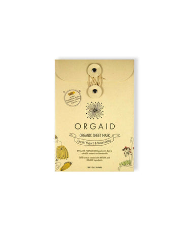Greek Yogurt Nourishing Sheet Mask - LEMON LAINE - Masks - Orgaid