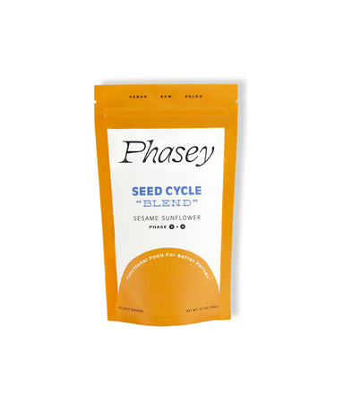 Sesame Sunflower Cycle Blend - LEMON LAINE - Hormone Health - Phasey