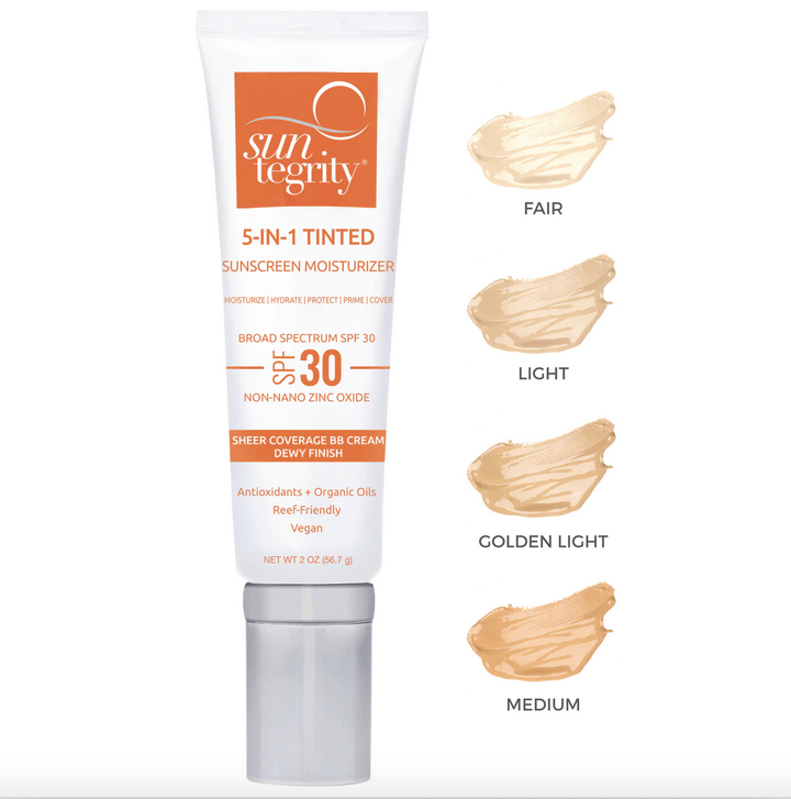 5-in-1 Tinted Golden Light