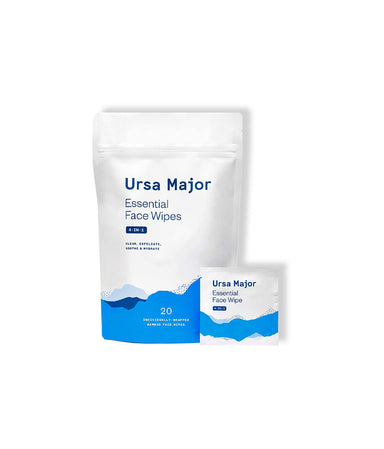 Essential Face Wipes - LEMON LAINE - Makeup Removers - Ursa Major