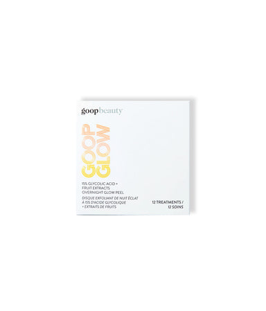 15% Glycolic Acid Overnight Glow Peel, 12 pack - LEMON LAINE - Masks - Goop