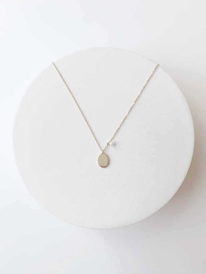 'Peaceful Moon' Necklace