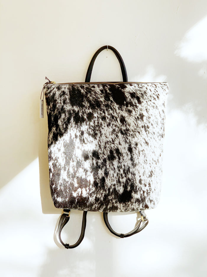 Salt + Pepper Cowhide Backpack