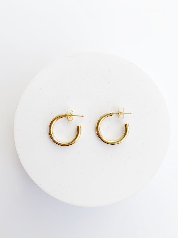 'Gia' Hoop Earrings