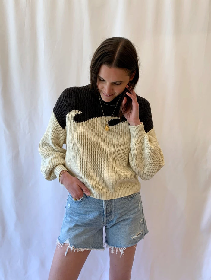 'Wave' Sweater
