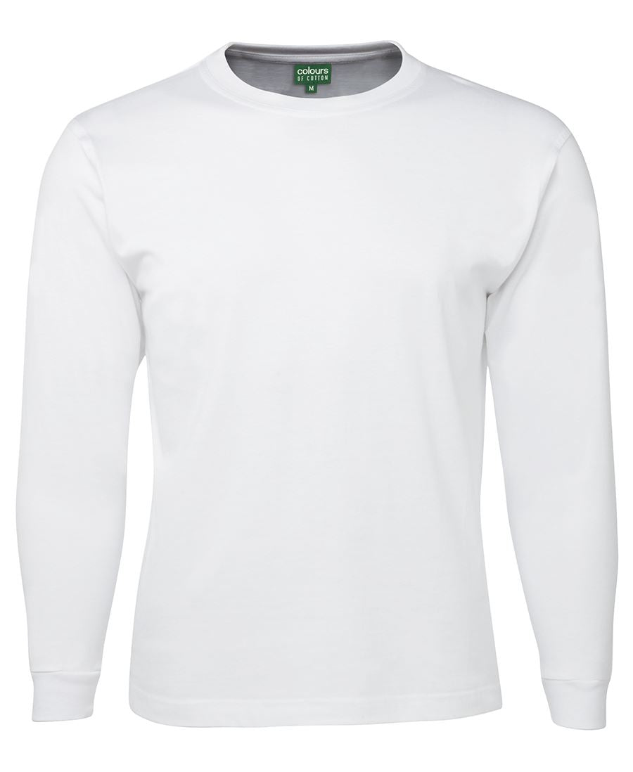 Cotton Long Sleeve With Cuff Tee (Kids and Adults)