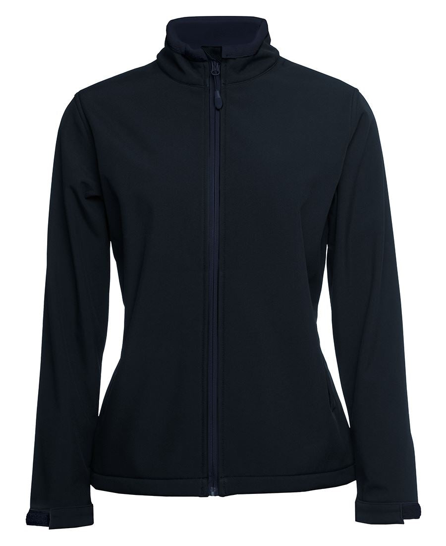 ACTIV EMBROIDERY DESIGNS, UNIFORMS, JB Podium ladies Water Resistant Softshell Jacket