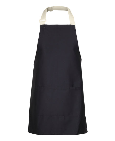 Short Apron With Colour Straps (65 x 71)