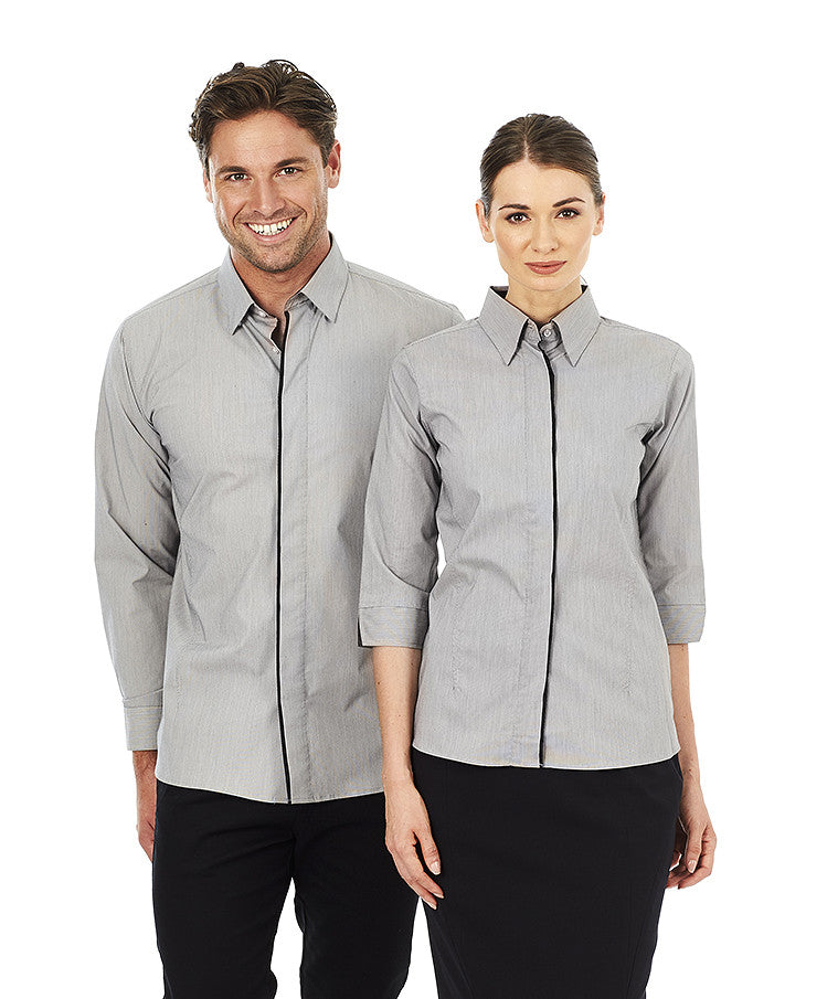 ACTIV EMBROIDERY DESIGNS.UNIFORMS.Mens Stella SHIRT