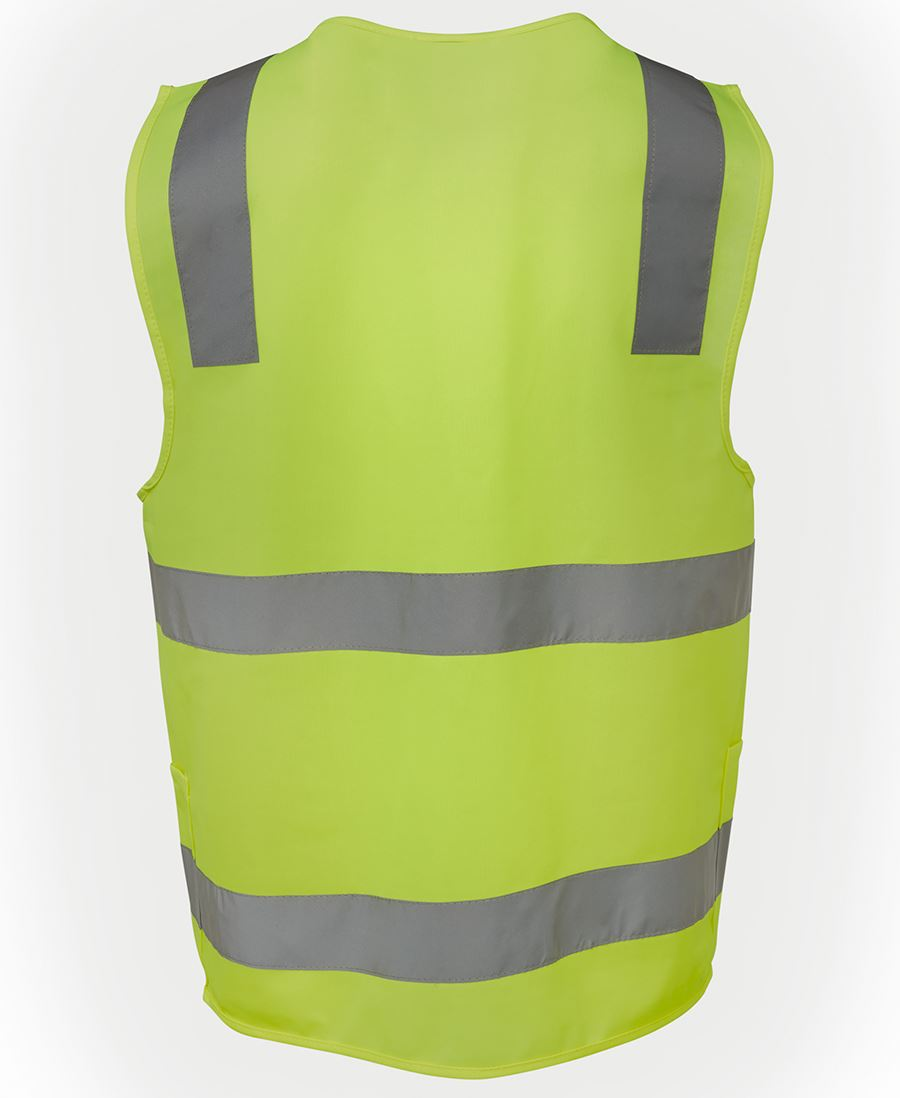 Hi Vis D+N Zip Safety Vest