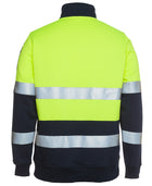 ACTIV EMBROIDERY DESIGNS, UNIFORMS, WORKWEAR, JB Hi Vis 1/2 Zip (D+N) Fleecy Sweat