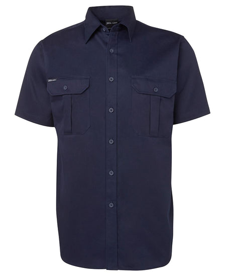 JB WEAR 190G Work S/S Shirt (Mens)