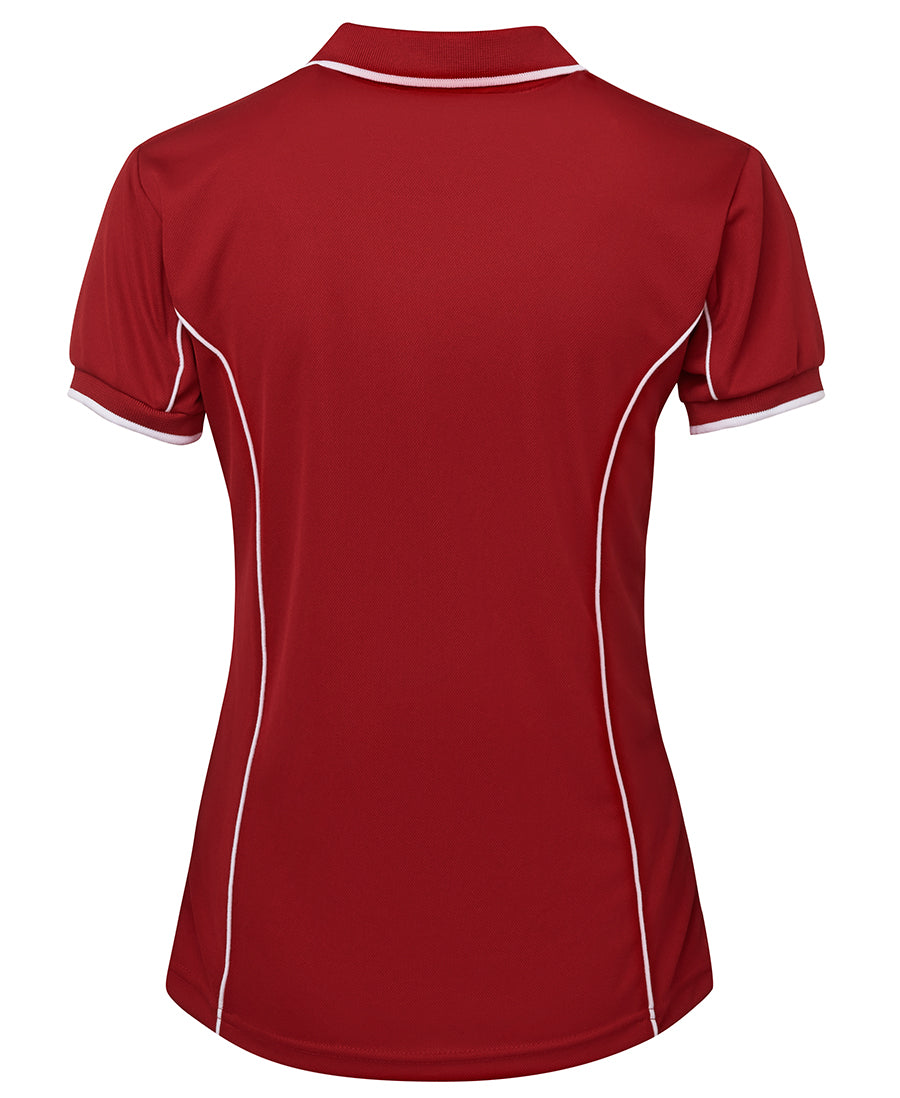Short Sleeve Piping Polo (Ladies) - Extra Colours