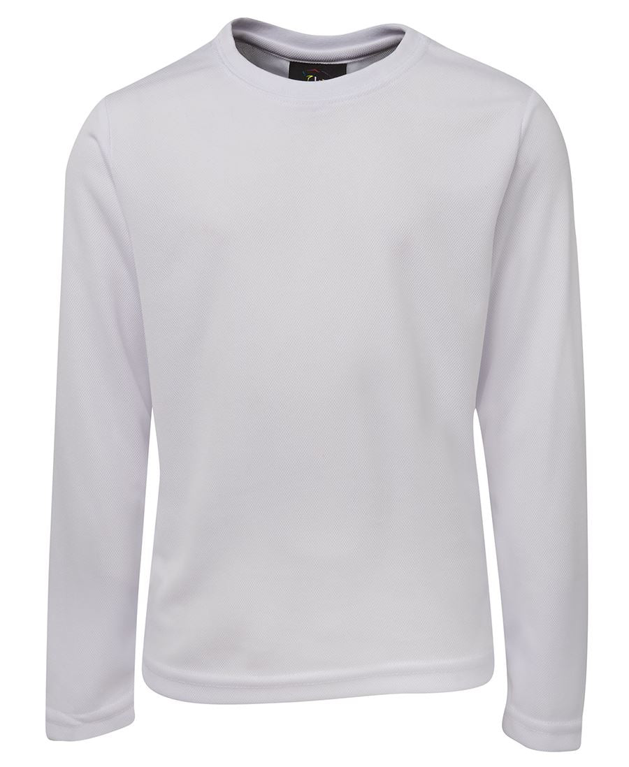 ACTIV EMBROIDERY DESIGNS. UNIFORMS. JB LONG SLEEVE POLY TEE