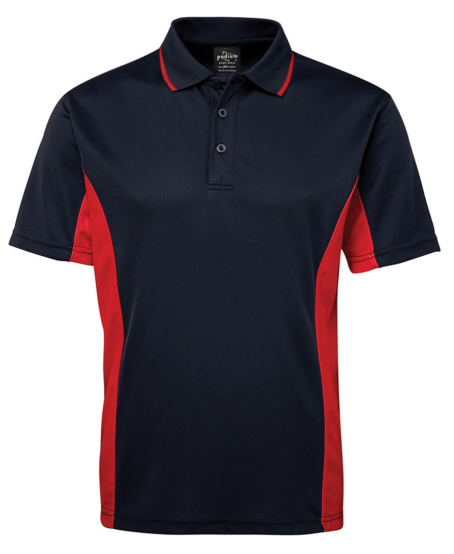 Contrast Poly Polo (Mens) - Extra Colours