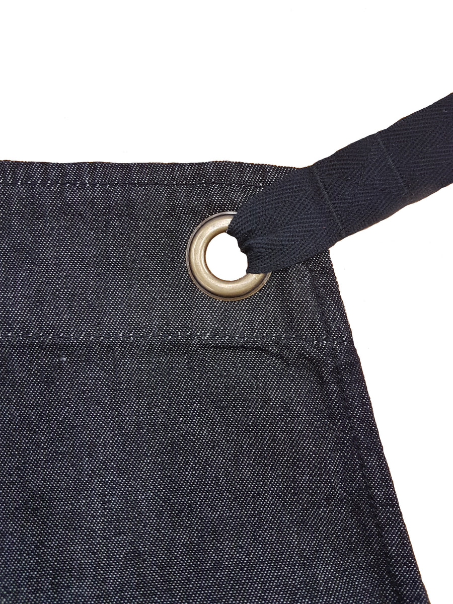 Billy Denim Bib Apron