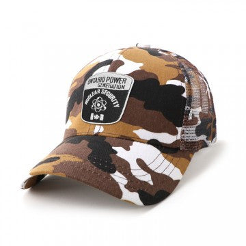 ACTIV EMBROIDERY DESIGNS.Camo 6-Panel cap.