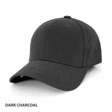 ACTIV EMBROIDERY DESIGN, UNIFORMS. HEAVY BRUSHED 6 PANEL CAP