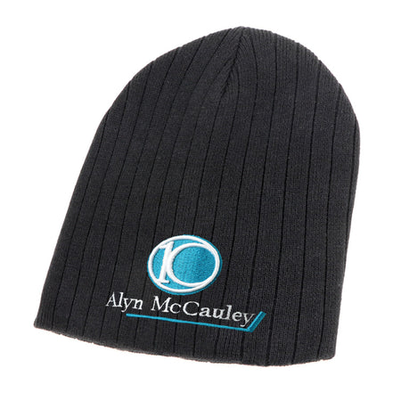 ACTIV EMBROIDERY DESIGNS. UNIFORMS.100% Cotton Beanie
