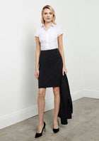 ACTIV EMBROIDERY DESIGNS. UNIFORMS.LADIES LOREN SKIRT