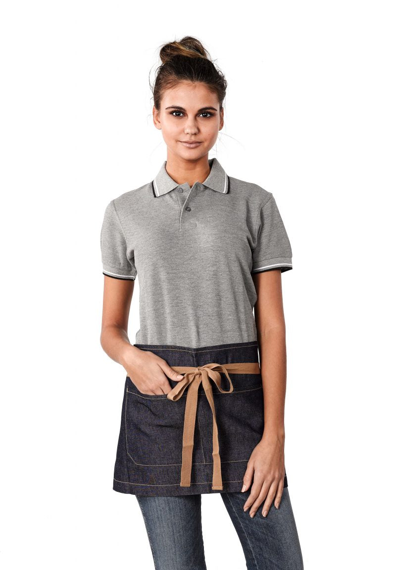 Bronte Original Denim Short Apron