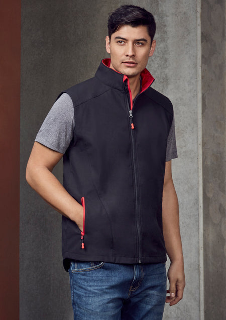 ACTIV EMBROIDERY DESIGNS.UNIFORMS.WORKWESR.MENS GENEVA VEST