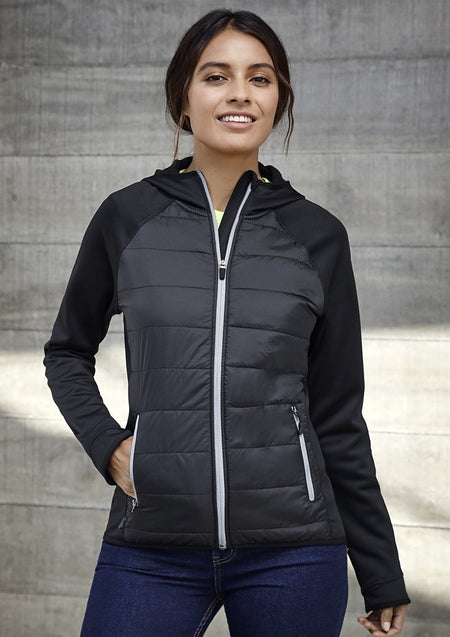 BIZ COLLECTION  LADIES STEALTH HOODIE JACKET