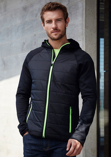 BIZ COLLECTION MENS STEALTH HOODIE JACKET