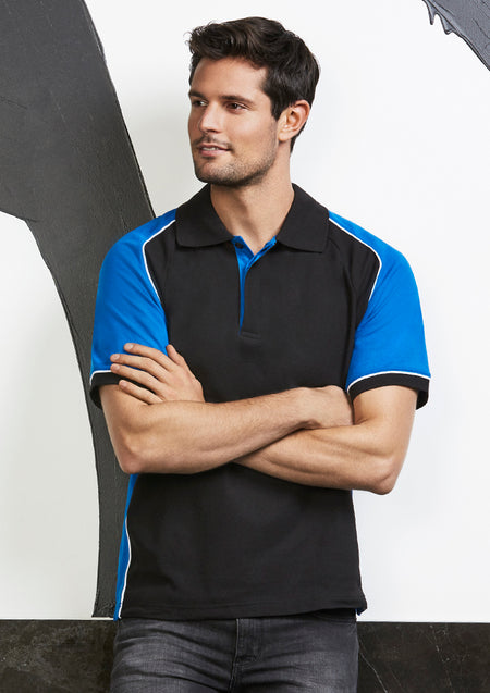 ACTIV EMBROIDERY DESIGNS. WORKWEAR. MENS NITRO POLO