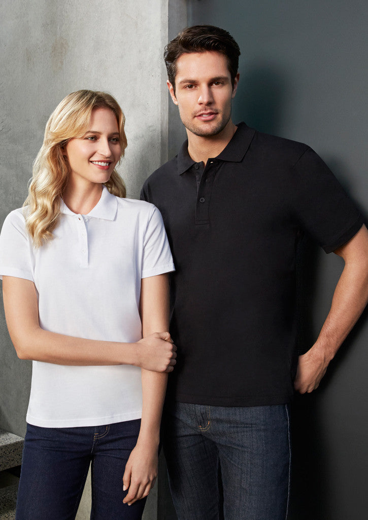 ACTIV EMBROIDERY DESIGNS. UNIFORMS.MENS ICE POLO