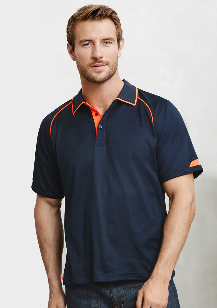 ACTIV EMBROIDERY DESIGNS. WORKWEAR.MENS FUSION POLO