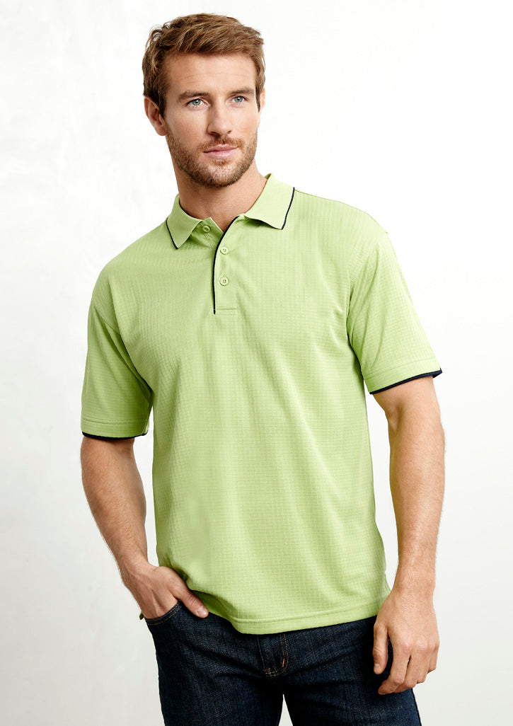 ACTIV EMBROIDERY DESIGNS.MENS ELITE POLO