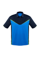 ACTIV EMBROIDERY DESIGNS. MENS VICTORY POLO