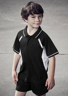 ACTIV EMBROIDERY DESIGN,BIZ COLLECTION Renegade polo kids