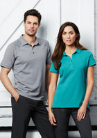 ACTIV EMBROIDERY DESIGN, UNIFORMS.BIZ COLLECTION LADIES PROFILE POLO