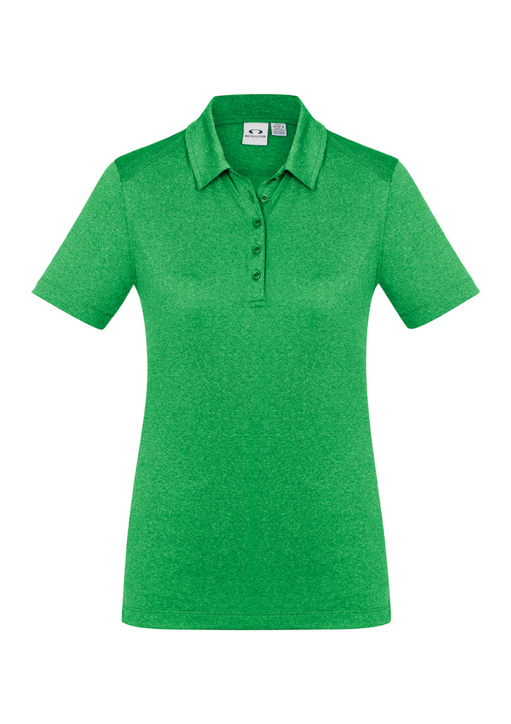 ACTIV EMBROIDERY DESIGNS. UNIFORMS. BIZ COLLECTION. AERO POLO (LADIES)